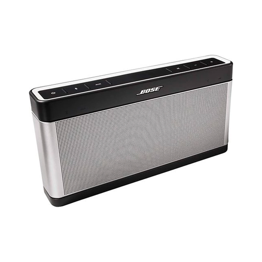 Bose SoundLink Portable Bluetooth Speaker III (Silver/Black) - Refurbished