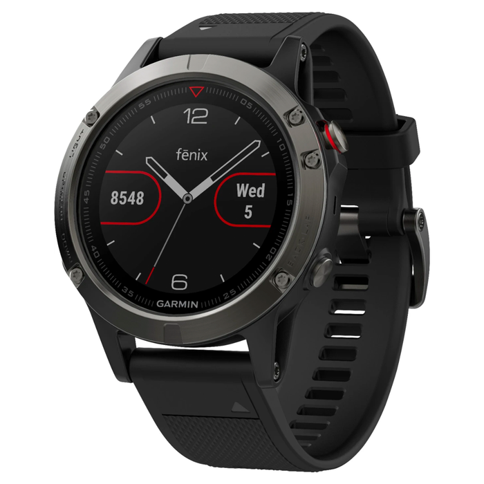 Garmin Fenix 5 Smartwatch 47mm Fiber Reinforced Polymer (Slate Gray) - Refurbished