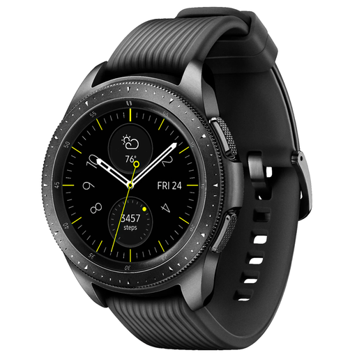 Samsung Galaxy Watch Smartwatch 42mm Stainless Steel (Midnight Black) - Refurbished