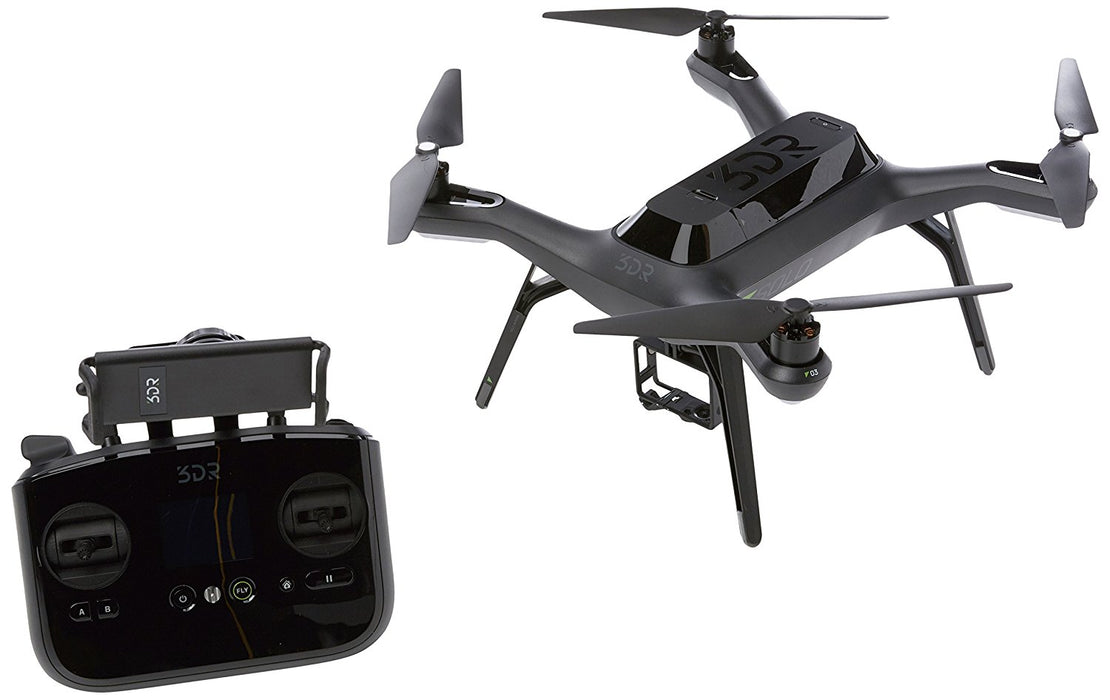 3DR Solo Camera Drone Quadcopter (Black) [Refurbished]