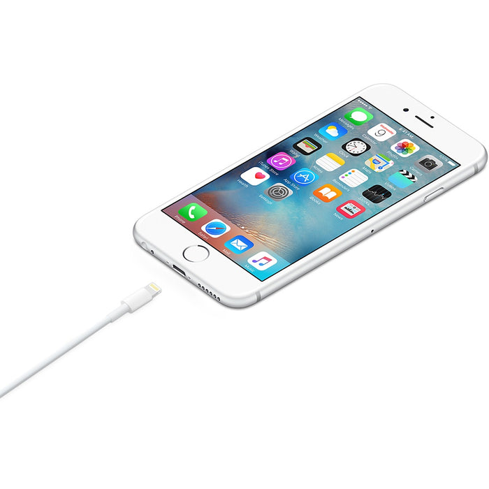 Apple 8 Pin Charger Lightning to USB Cable (White) 1M