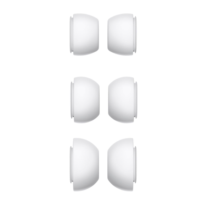 Replacement Silicone Ear Tips for Apple Airpods Pro (White) - Accessories