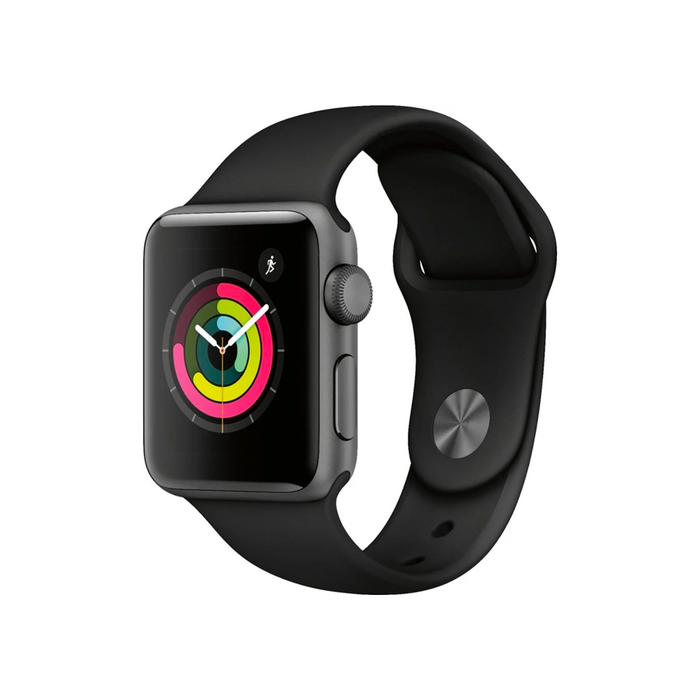 Apple Watch Series 3 38MM GPS Aluminum Case (Space Gray) - Refurbished