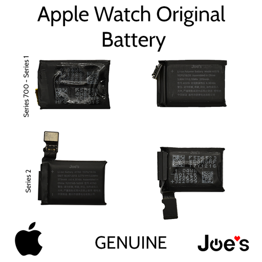 Battery Repair Apple Watch iWatch 38MM 42mm 7000 Series 1 2 - Parts