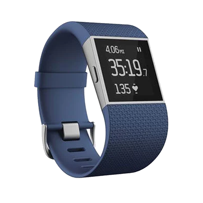 Fitbit Surge Fitness Tracker Super Watch GPS Heart Rate [Refurbished]
