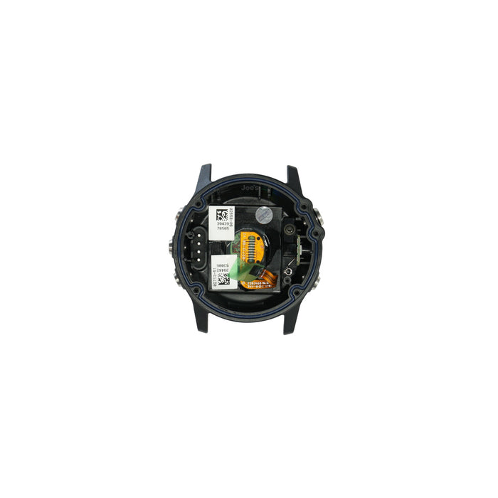 Garmin Fenix 3 HR Back Cover Housing Black Heart Rate Monitor - Parts