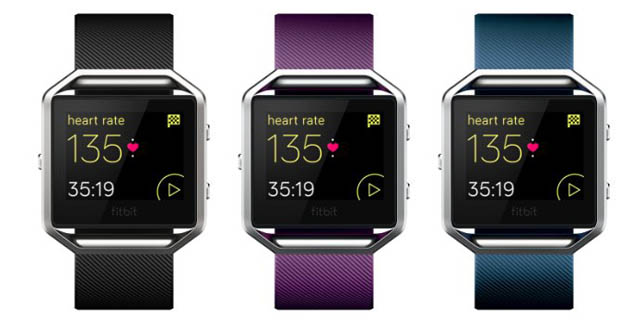 Fitbit Blaze Smart Fitness Watch [Refurbished]
