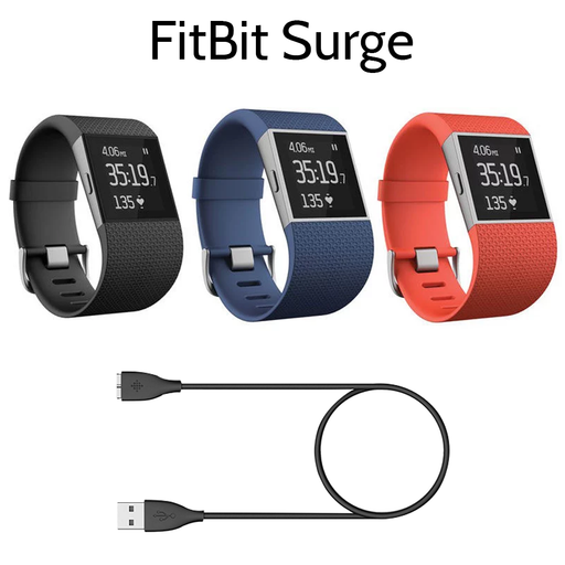 Fitbit Surge Fitness Tracker Super Watch GPS Heart Rate - Refurbished