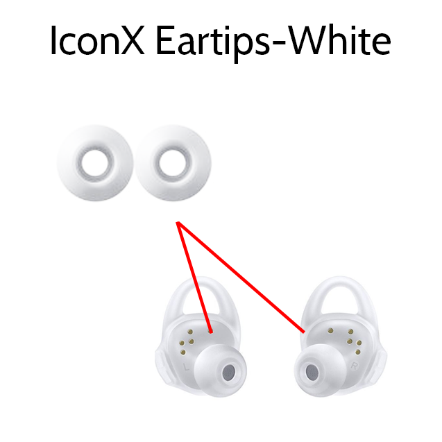 Replacement Samsung IconX Ear Tips Earbud Rubber Buds - Parts