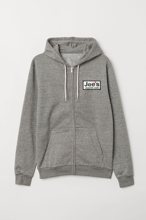 JoesGE Swag Zip Up Hoodie Sweater (Gray) - Clothing