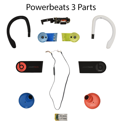 Beats By Dre PowerBeats 3 Wireless Repair - Parts