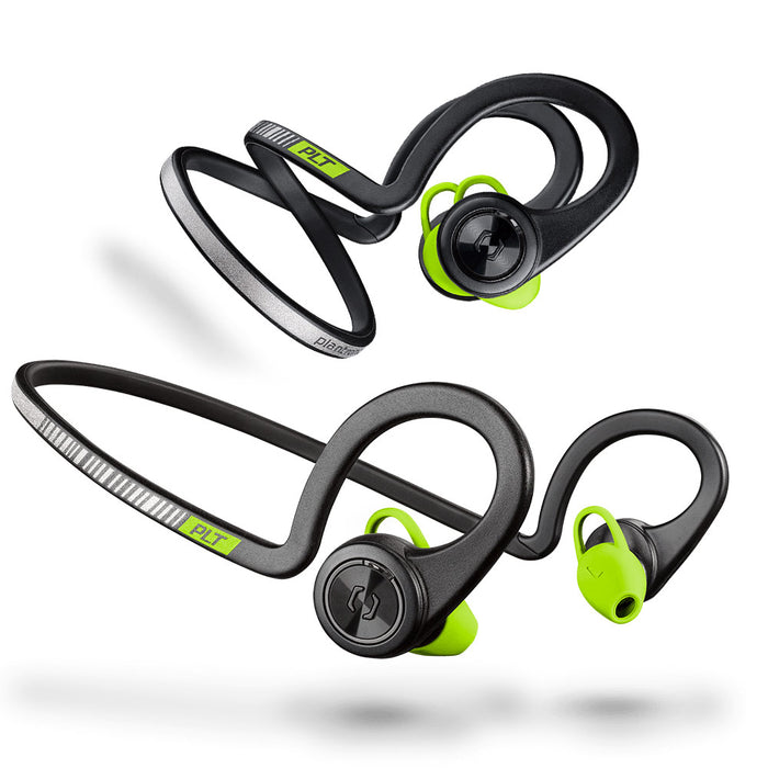 Plantronics BackBeat FIT Wireless Sport Headphones Training Edition (Black Core) [Refurbished]