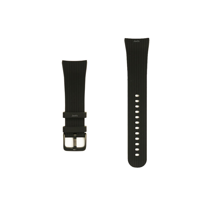 Samsung Gear Fit 2 Pro Silicone Wristband Replacement (Black) - Accessories