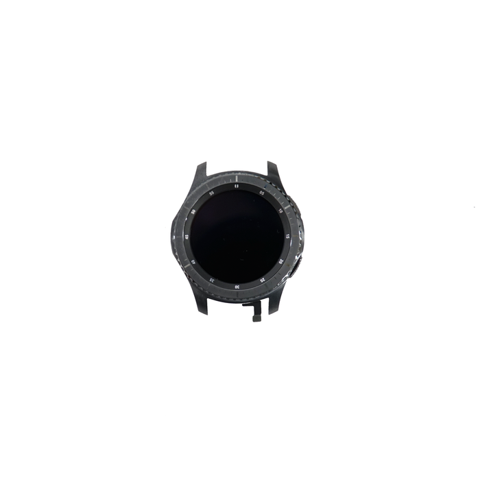 Samsung Gear S3 Screen LCD Digitizer Front Housing Crown Frontier Classic 46MM - Parts