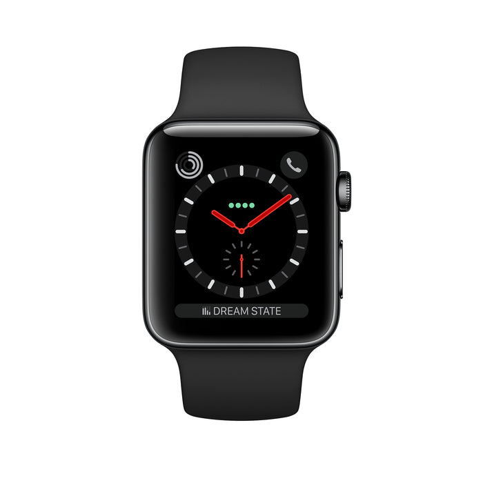 Apple Watch Series 3 42MM (GPS + LTE) Space Gray Aluminum Case - Refurbished