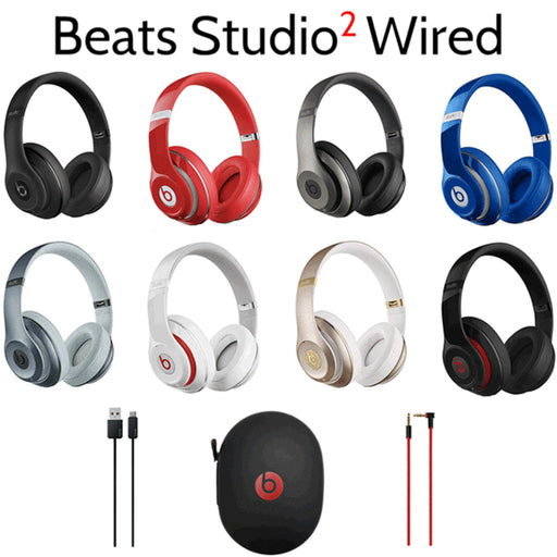 Beats by Dr. Dre Studio 2 Wired Over-Ear Headphones - Refurbished