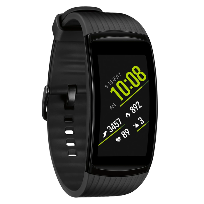 Samsung Gear Fit 2 Pro Fitness Smartwatch Large (Black) - Refurbished