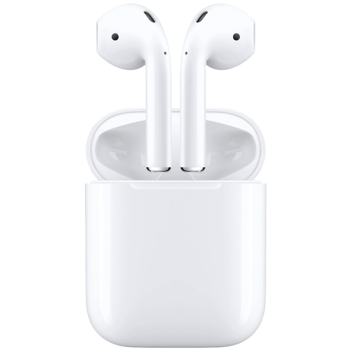 Apple AirPods 2nd Generation With Charging Case - Refurbished
