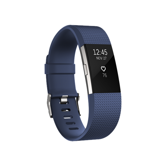 Fitbit Charge 2 HR Fitness Tracker Wristband - Refurbished