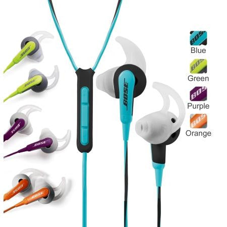 Bose SIE2i Sport In-Ear Earbuds Headphones with Mic iOS (Refurbished)