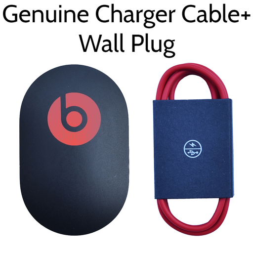 Beats by Dr. Dre USB Charger Wall Plug 2.1A With Micro USB Charger Cable Bundle