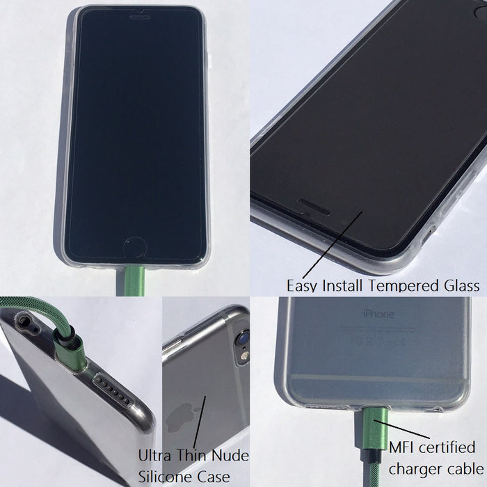 ⚡ Power & Protect 🛡 iPhone Accessories Kit