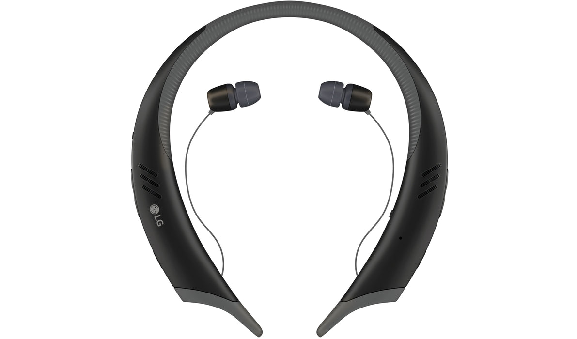 LG Tone Active+ HBS-A100 Wireless Stereo Bluetooth Headset (Black) [Refurbished]
