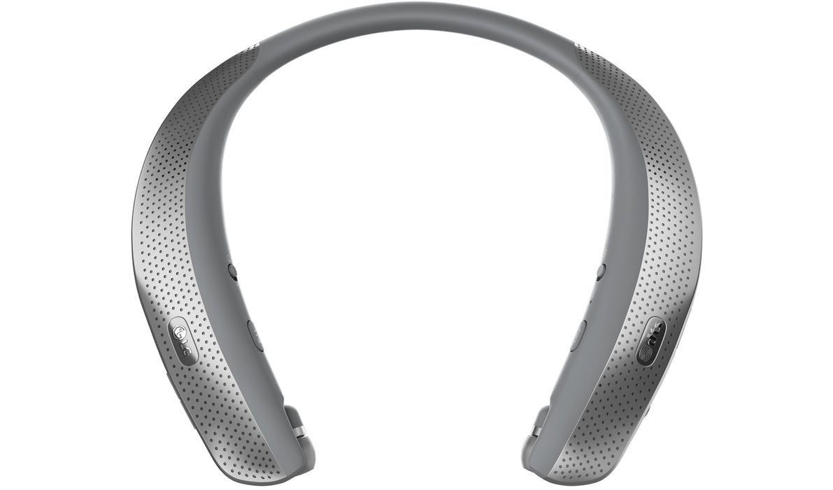 LG TONE Studio HBS-W120 Bluetooth Wearable Personal Speaker Headset - Refurbished