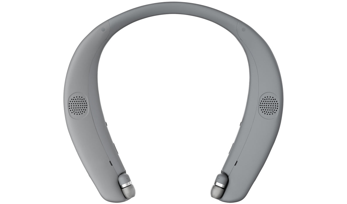 LG TONE Studio HBS-W120 Bluetooth Wearable Personal Speaker Headset [Refurbished]