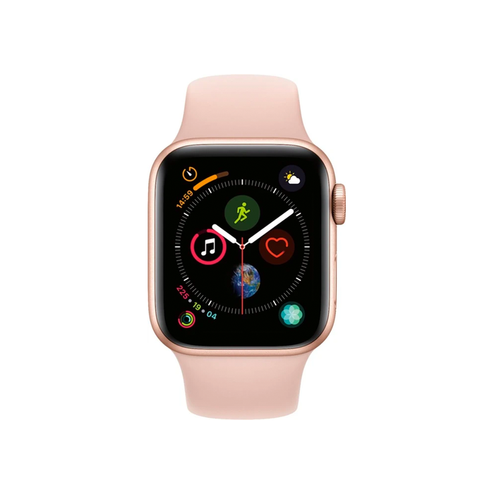 Apple Watch Series 4 GPS 40mm Pink Sand Sport Band (Gold Aluminum) - Refurbished
