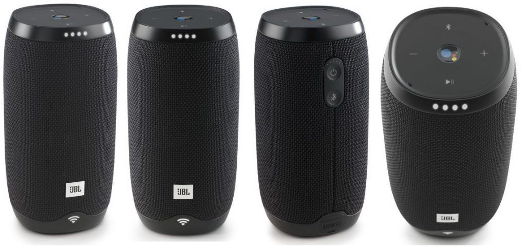 JBL Link 10 Smart Portable Bluetooth Speaker with the Google Assistant [Refurbished]