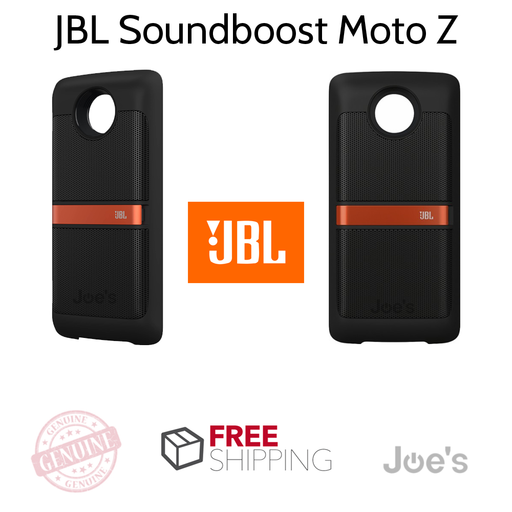 JBL SoundBoost MotoZ Mod Speaker - Black [Refurbished]