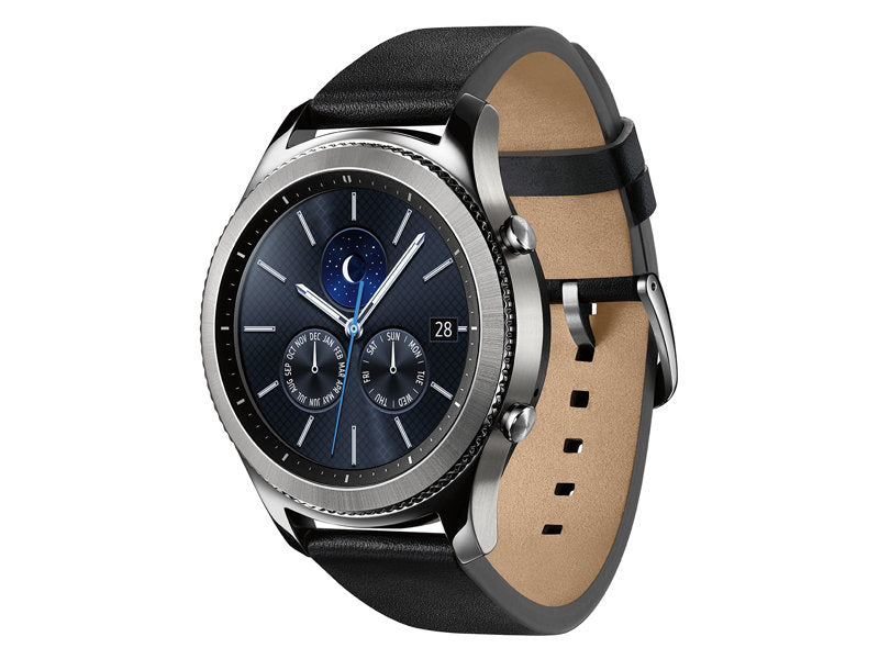 Samsung Gear S3 Classic Smartwatch 46MM Silver - Refurbished