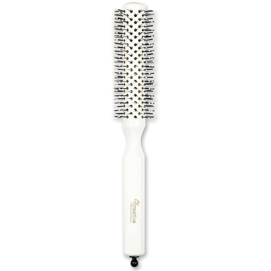 Italian White Pin Hair Brush