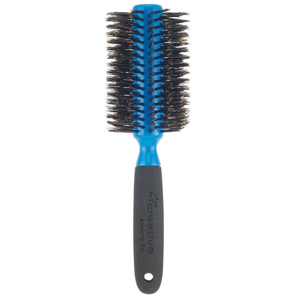 Italian round boar bristle Hair Brush