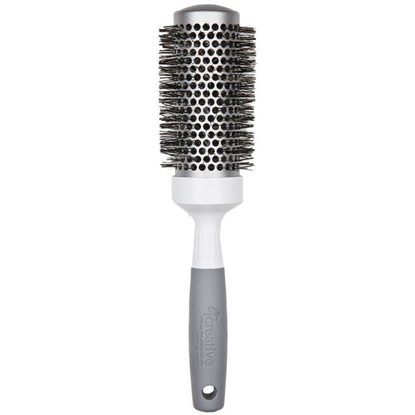 Pro Silver Nano and Ion Bristle Hair Brush- Creative Professional Hair Tools