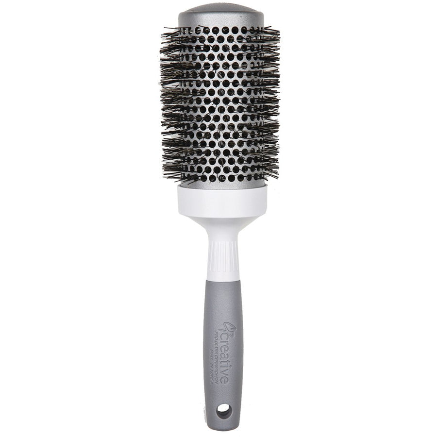 Pro Silver Vented Round Hair Brush