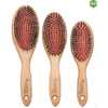 Eco-Friendly Mixed Bristle Paddle Hair Brush - Creative Professional Hair Tools