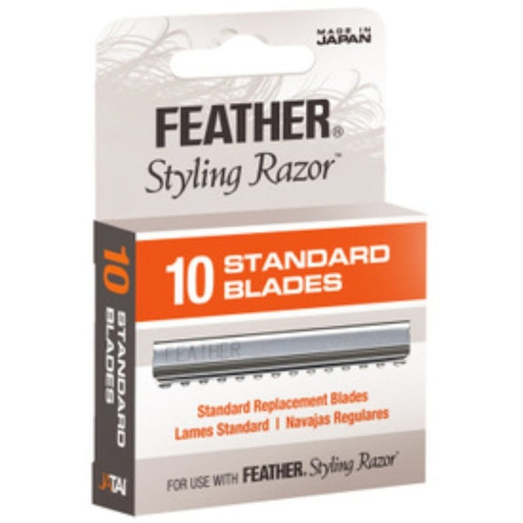 10 Styling Razor Replacement Blades - Creative Professional Hair Tools