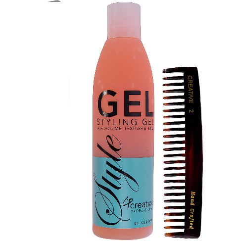 Gel and Comb Set - Creative Professional Hair Tools