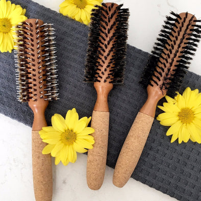Eco-Friendly Round Hair Brush Set - Creative Professional Hair Tools