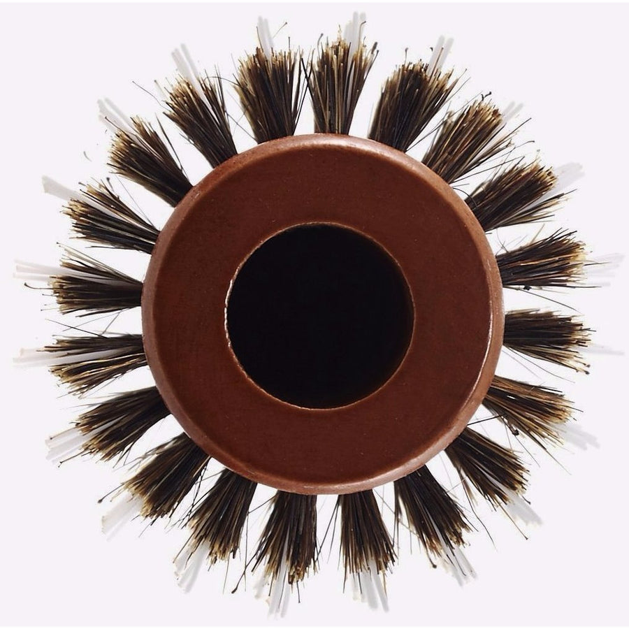 Brushes - Eco-Friendly Mixed Bristle Round Hair Brush