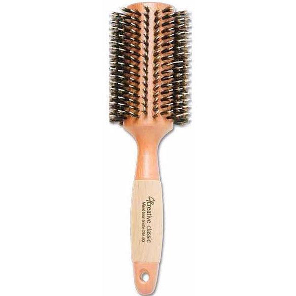 Eco-Friendly Mixed Bristle Round Hair Brush - Creative Professional Hair Tools