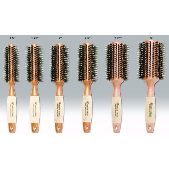 Eco-Friendly Round Hair Brush Set of 6 - Creative Professional Hair Tools
