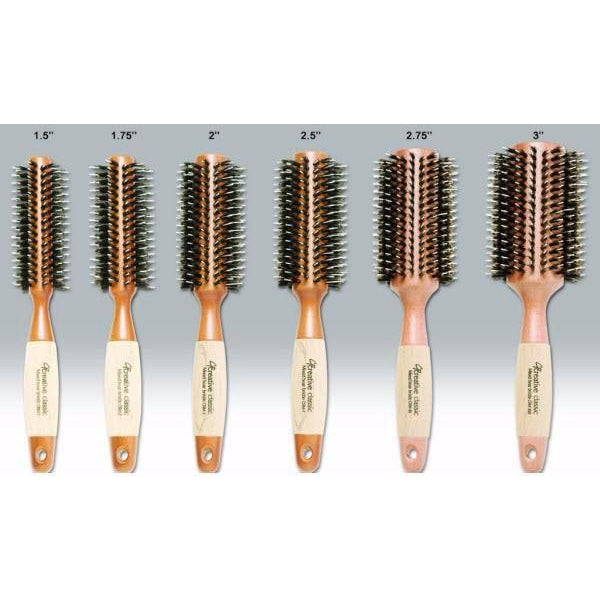 Brushes - Eco-Friendly Round Hair Brush Set Of 6
