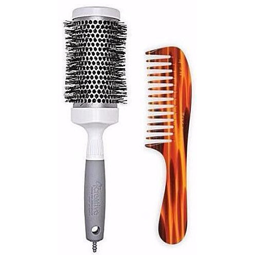 Brushes - Pro-T Curve And Tortoise Comb Set