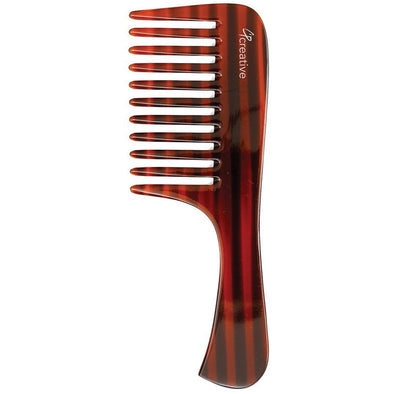 7.5 Inch Tortoise Comb - Creative Professional Hair Tools