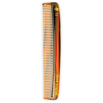 Combs - C11 Medium Tooth Tortoise Pocket Comb (7 In)