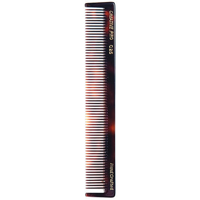 C25 Styling & Cutting 7.5 Inch Tortoise Comb - Creative Professional Hair Tools