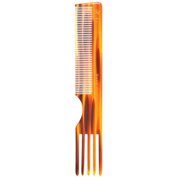 Combs - C6L Tortoise Teasing & Lifting Comb (7.5 In)